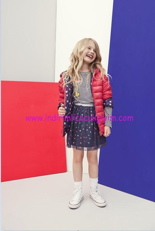 koton kids kız çocuk mont modelleri