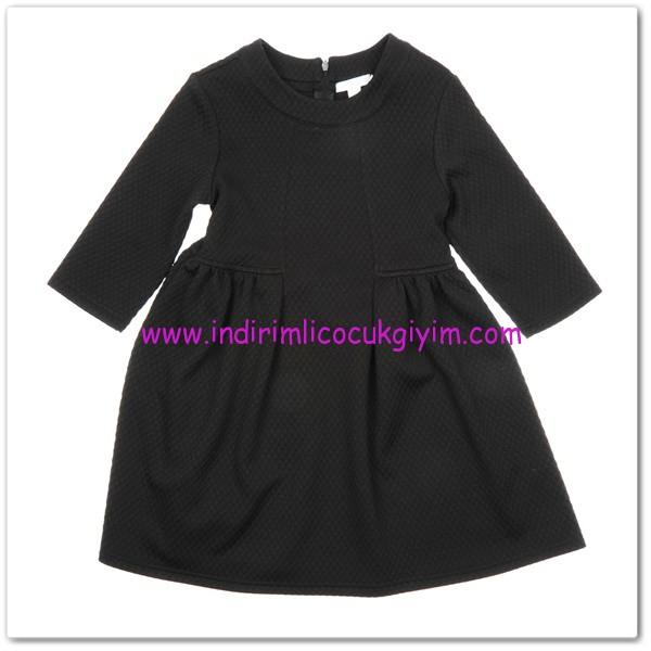 kiz-cocuk-elbise-siyah