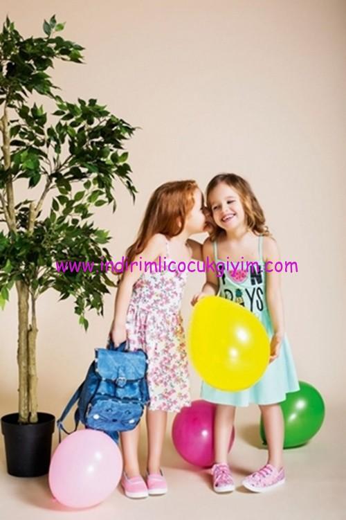 defacto 2017 askılı yazlık çocuk elbiseleri