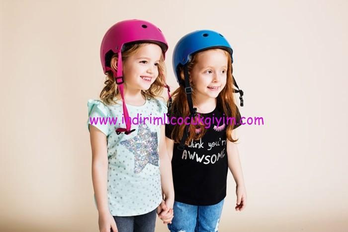 defacto 2017 kız çocuk tişört modelleri