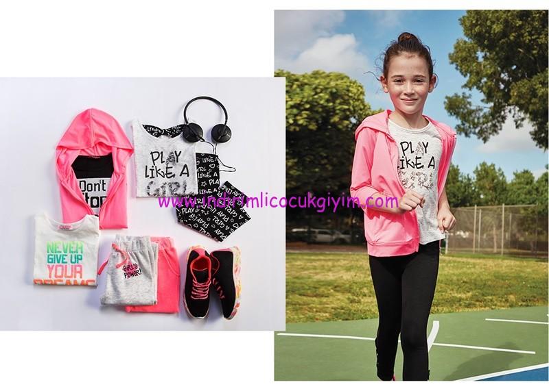 LCW kız çocuk power girl spor giyim koleksiyonu