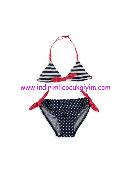 lcw kız çocuk fiyonklu bikini