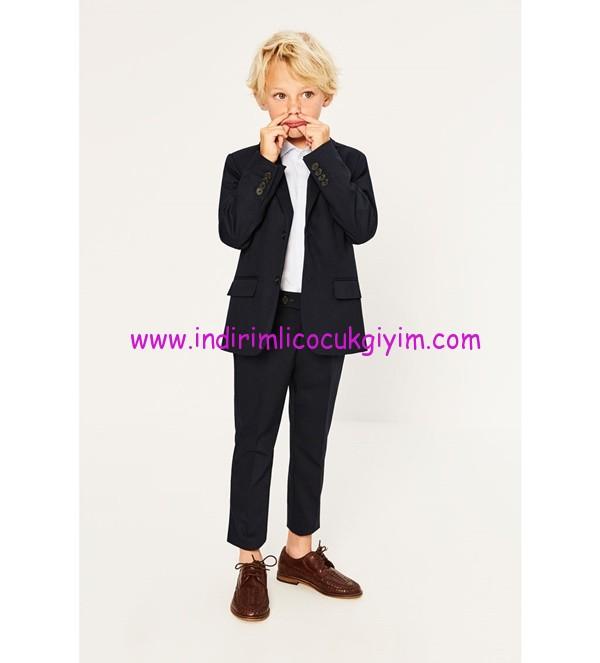 zara erkek çocuk basic takım pantolonu