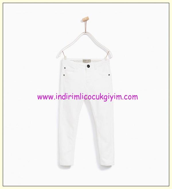 zara erkek çocuk beyaz fitilli pantolon