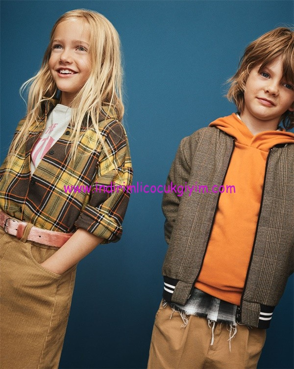 zara 2017 sonbahar-kış çocuk giyim koleksiyonu