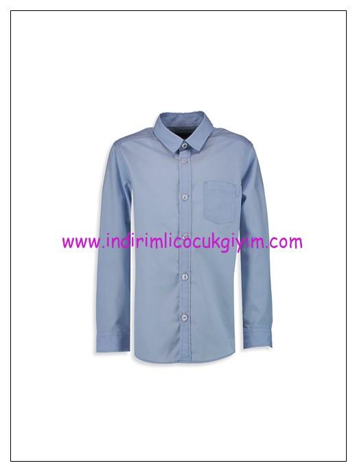 LCW erkek çocuk mavi gömlek-17 TL