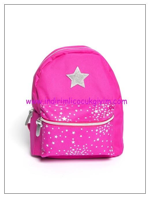 LCW kız çocuk fuşya sırt çantası-20 TL