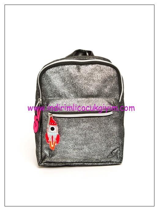 LCW kız çocuk gümüş sırt çantası-40 TL
