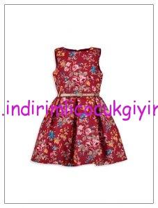 lcw-kız-çocuk-desenli-kırmızı-elbise