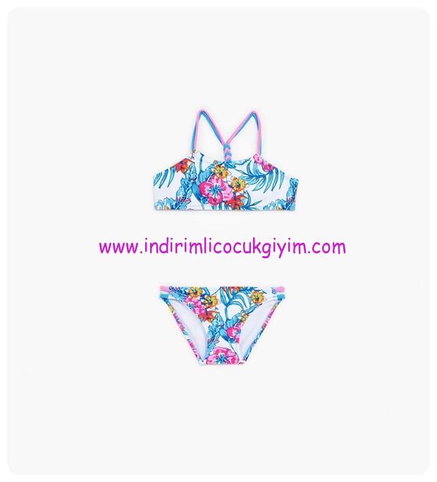 zara tropikal desenli bikini-66 TL